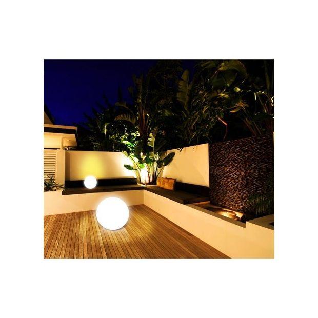 Lampe sans fil in trieure et ext rieure 25 cm couleurs for Lampe exterieure sans fil