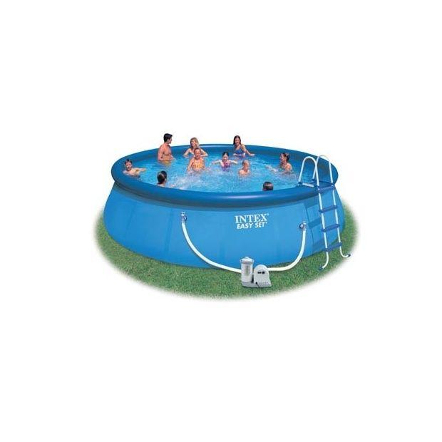 Kit piscine autoportante easy set intex d m x h 1 for Piscine autoportante easy set