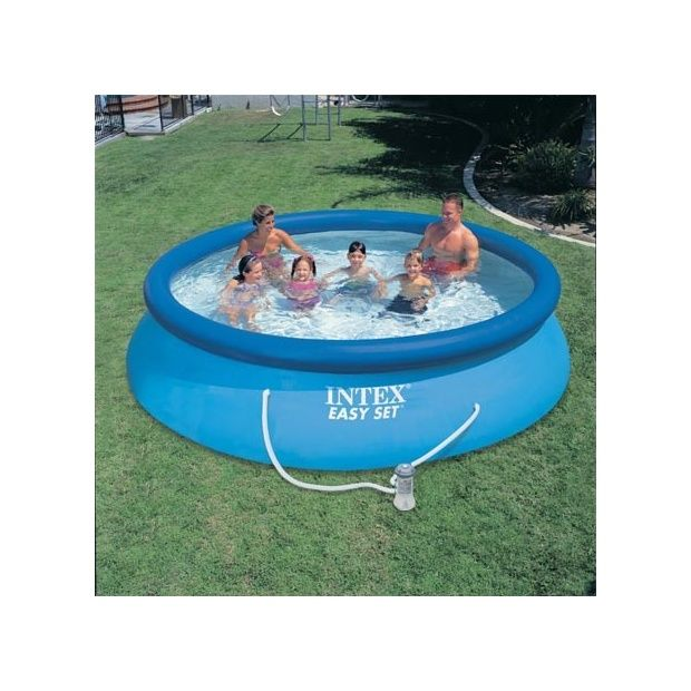Kit piscine autoportante easy set intex d m x h 0 - Pompe pour piscine intex easy set ...