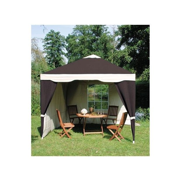 tonnelle luxury 3 x 3 m toile polyester sac de transport dream garden plantes et jardins. Black Bedroom Furniture Sets. Home Design Ideas