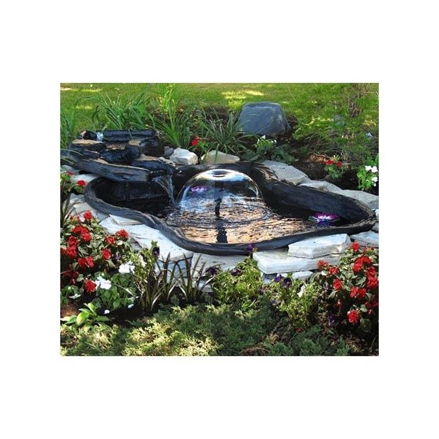Kit bassin 275l happy water intermas celloplast for Kit bassin exterieur