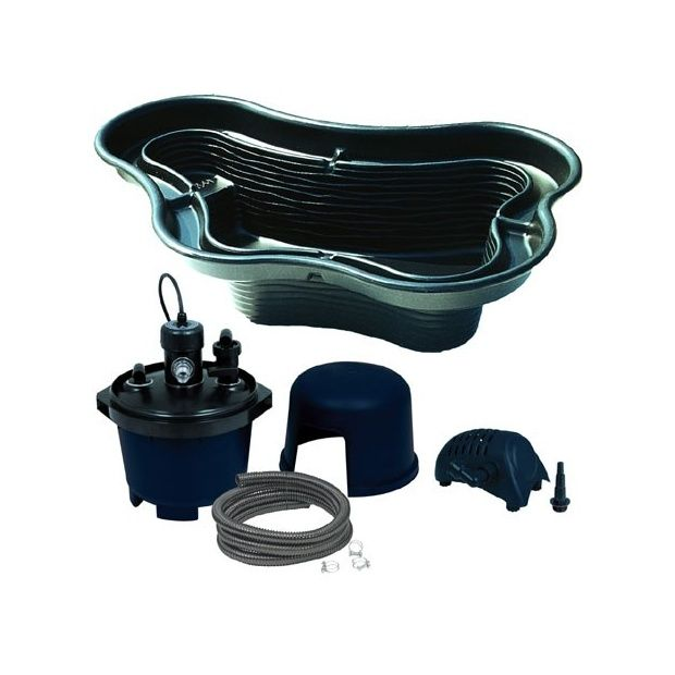 kit bassin 1400l ubbink avec bassin pompe filtration. Black Bedroom Furniture Sets. Home Design Ideas