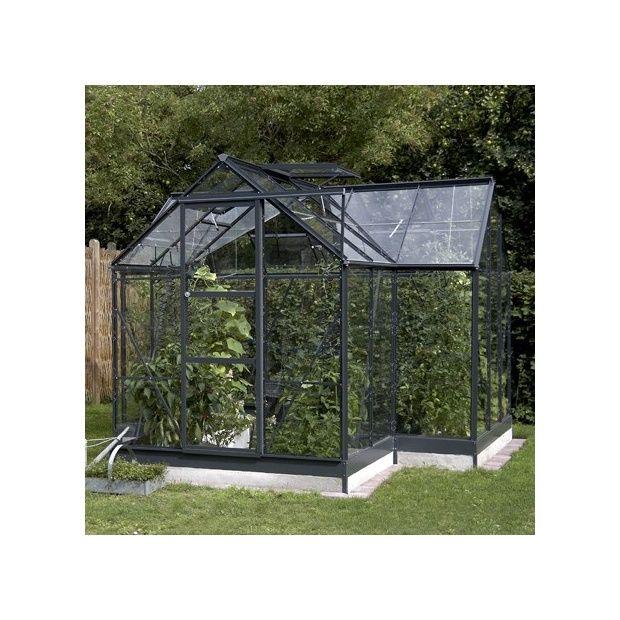 serre orangerie en verre tremp et alu 8 6m eden. Black Bedroom Furniture Sets. Home Design Ideas