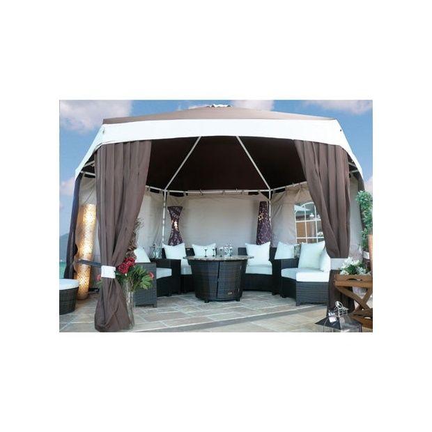 toile de remplacement pour tonnelle fer forg 3x4 ad seville plantes et jardins. Black Bedroom Furniture Sets. Home Design Ideas