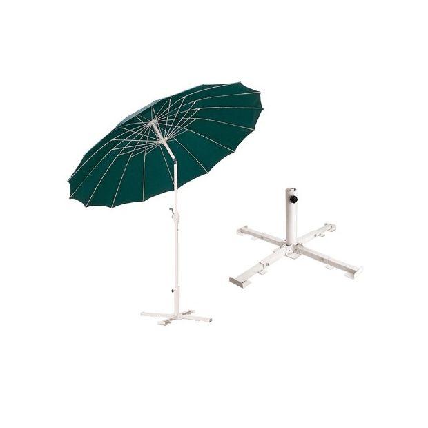 pied de parasol 25kg avec roues amovibles plantes et jardins. Black Bedroom Furniture Sets. Home Design Ideas