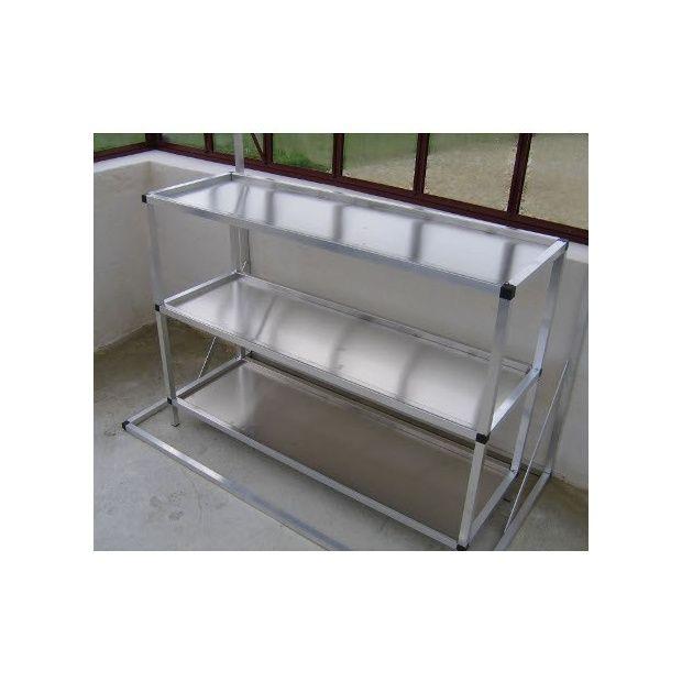 etagere aluminium etagere aluminium with etagere aluminium free tagre murale en aluminium en. Black Bedroom Furniture Sets. Home Design Ideas