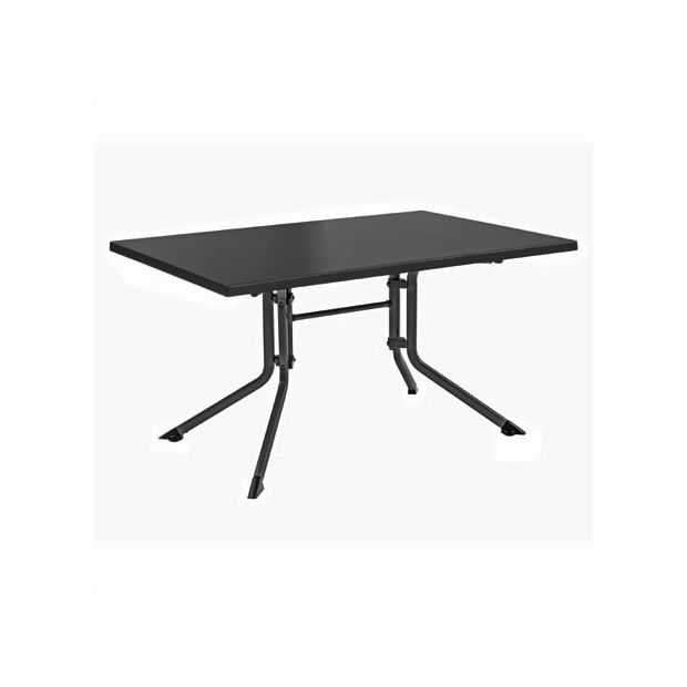 Table pliante 160 x 95 x 74 cm anthracite kettler for Table exterieur kettler