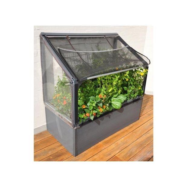 jardin potager sur lev adoss bas grow camp plantes et. Black Bedroom Furniture Sets. Home Design Ideas