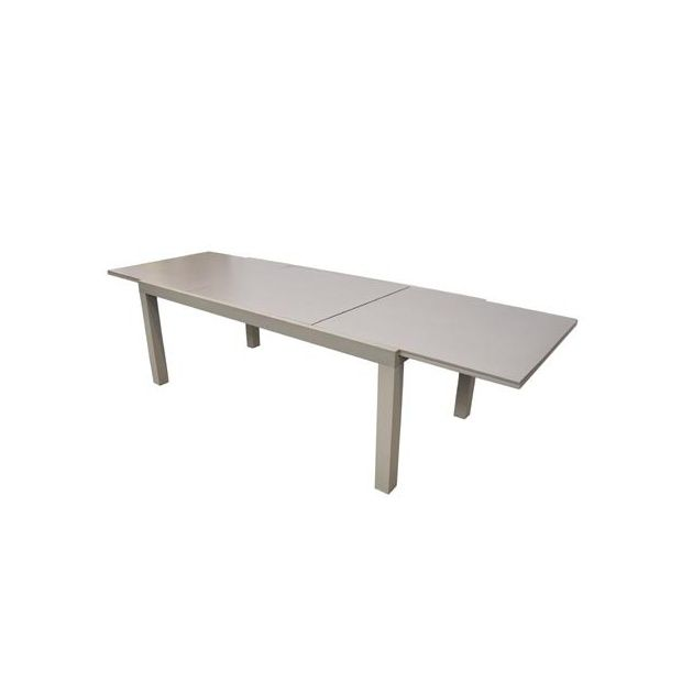 table factory avec allonge pivotante 200 300x100x75. Black Bedroom Furniture Sets. Home Design Ideas