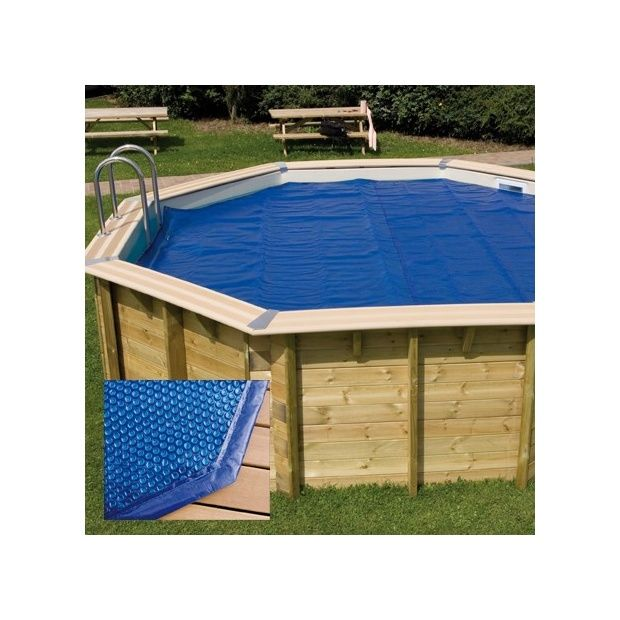 B che bulles bord e pour piscine octogonale 430cm 400 for Bache piscine octogonale