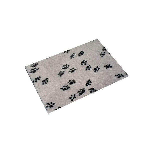 Tapis confort anka pour chien 75 x 100 gris plantes et jardins - Tapis gazon pour chien ...