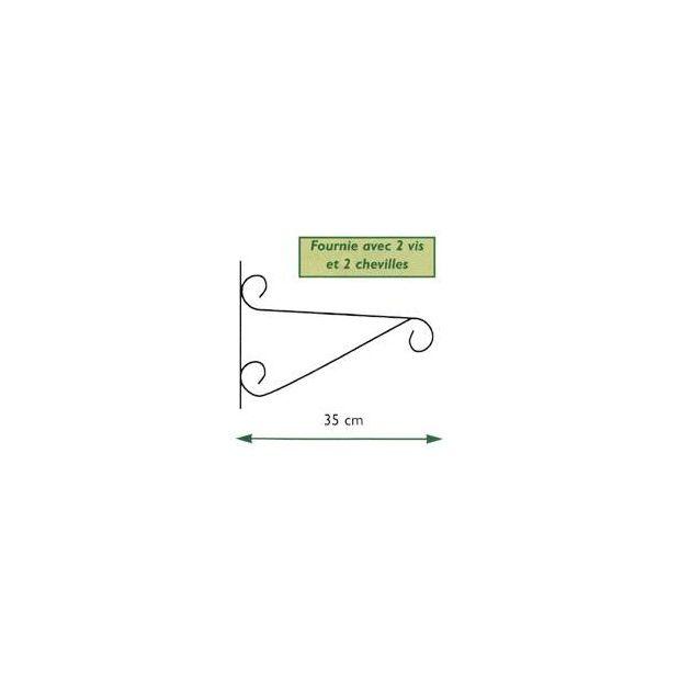 Potence pour corbeille anglaise - Plantes et Jardins