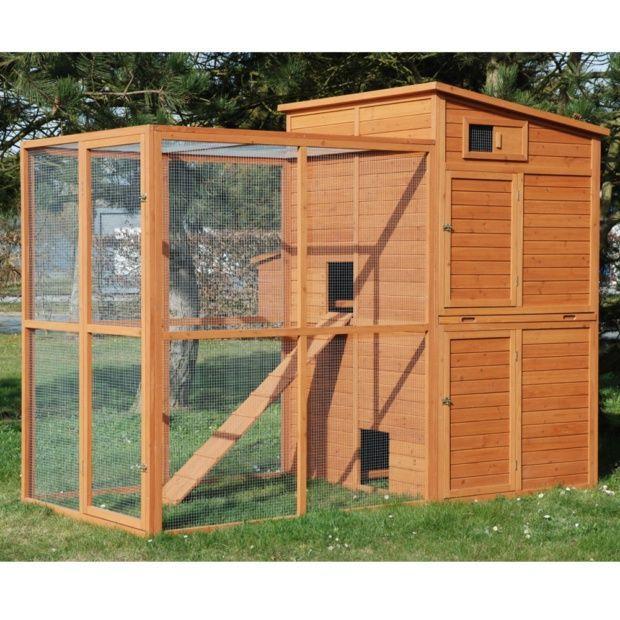 poulailler arizona 8 12 poules plantes et jardins. Black Bedroom Furniture Sets. Home Design Ideas