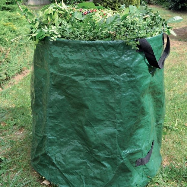 sac d chet 65x75 cm 270l avec arceau et poign es gamm vert plantes et jardins. Black Bedroom Furniture Sets. Home Design Ideas