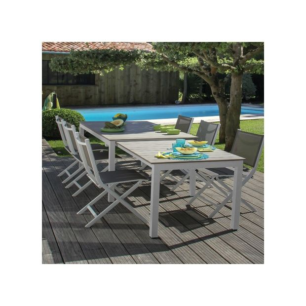 Salon de jardin aluminium pliant des id es for Chaise salon de jardin aluminium