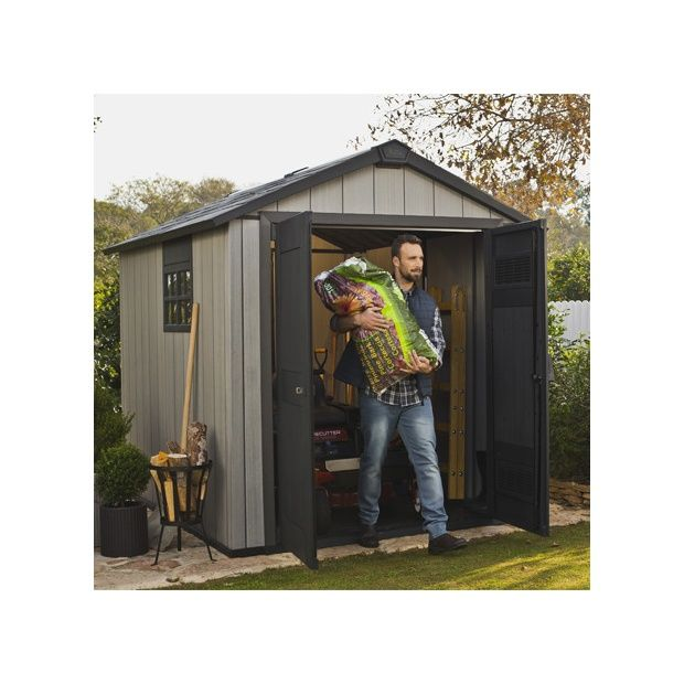 abri de jardin r sine keter m brossium plantes et jardins. Black Bedroom Furniture Sets. Home Design Ideas