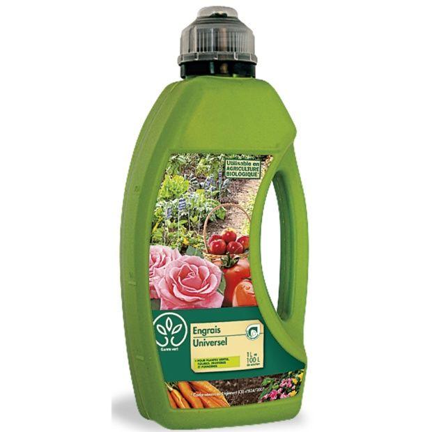 engrais universel 1l - gamm vert - plantes et jardins