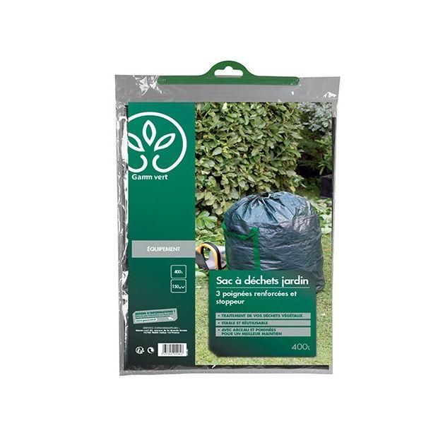 sac d chet stoppeur 400l gamm vert plantes et jardins. Black Bedroom Furniture Sets. Home Design Ideas