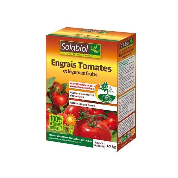 engrais tomates avec osiryl 1 5kg solabiol plantes et jardins. Black Bedroom Furniture Sets. Home Design Ideas