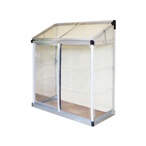Serre de balcon ou terrasse adoss e polycarbonate for Serre de jardin adossee polycarbonate