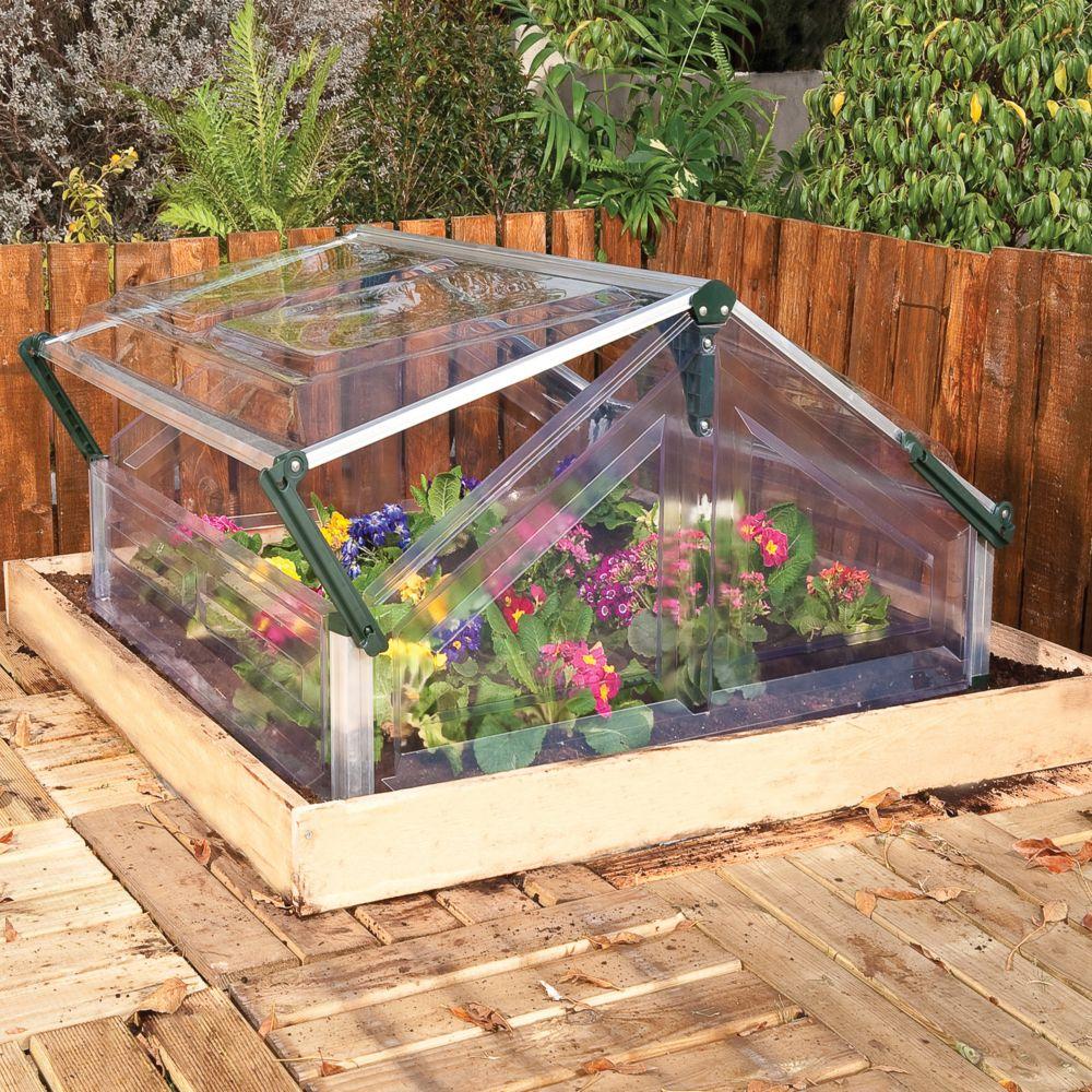 serre ch ssis m polycarbonate palram plantes et. Black Bedroom Furniture Sets. Home Design Ideas