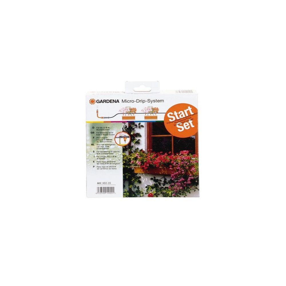 kit de base micro drip sp cial balcon gardena plantes et jardins. Black Bedroom Furniture Sets. Home Design Ideas