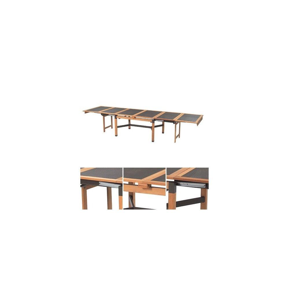 Best table de jardin extensible emu images awesome for Table de bar extensible