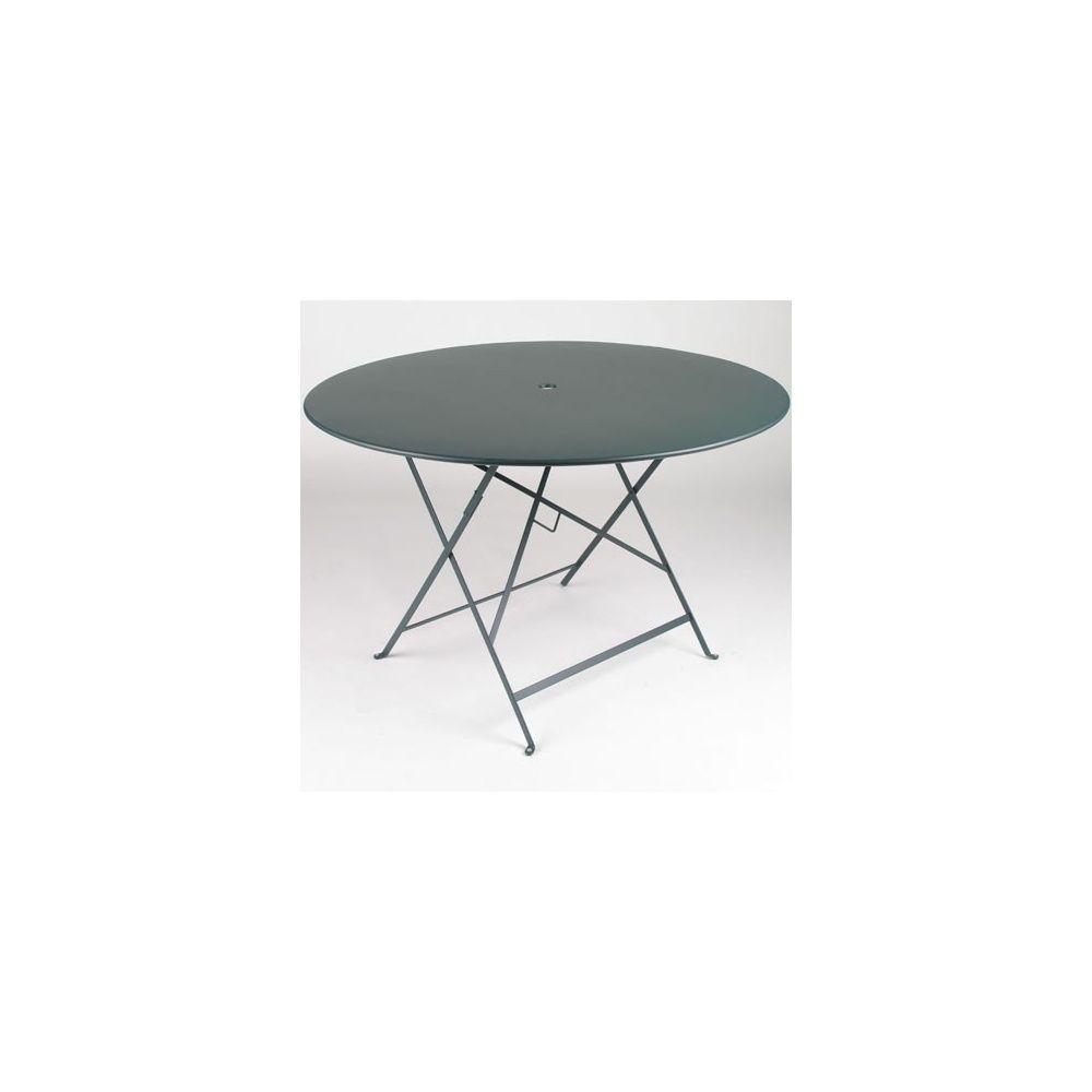 table pliante d117cm bistro c dre fermob plantes et jardins. Black Bedroom Furniture Sets. Home Design Ideas