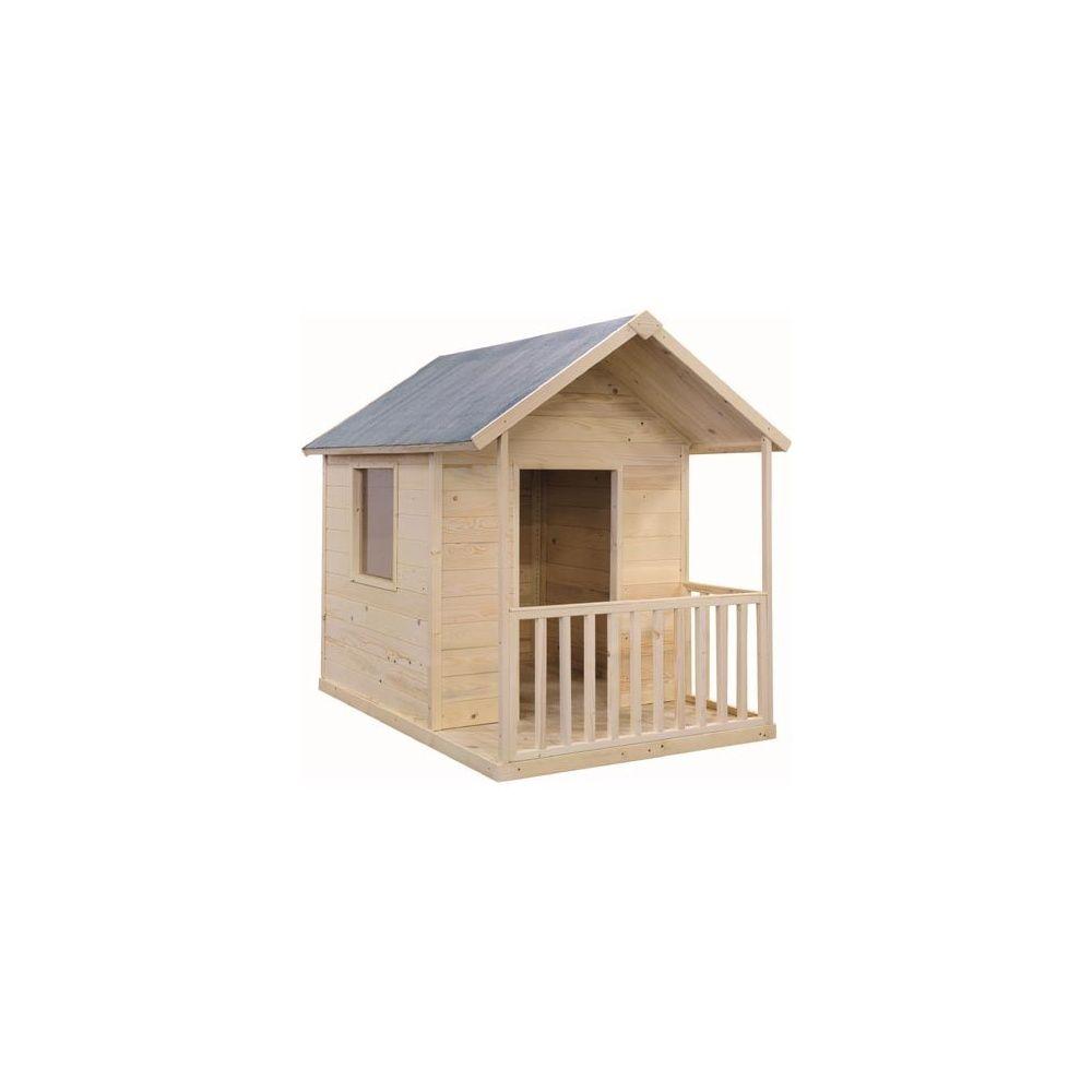 Maisonnette en bois pour enfants lapinou jardipolys plantes et jardins - Maisonnettes pour enfants ...