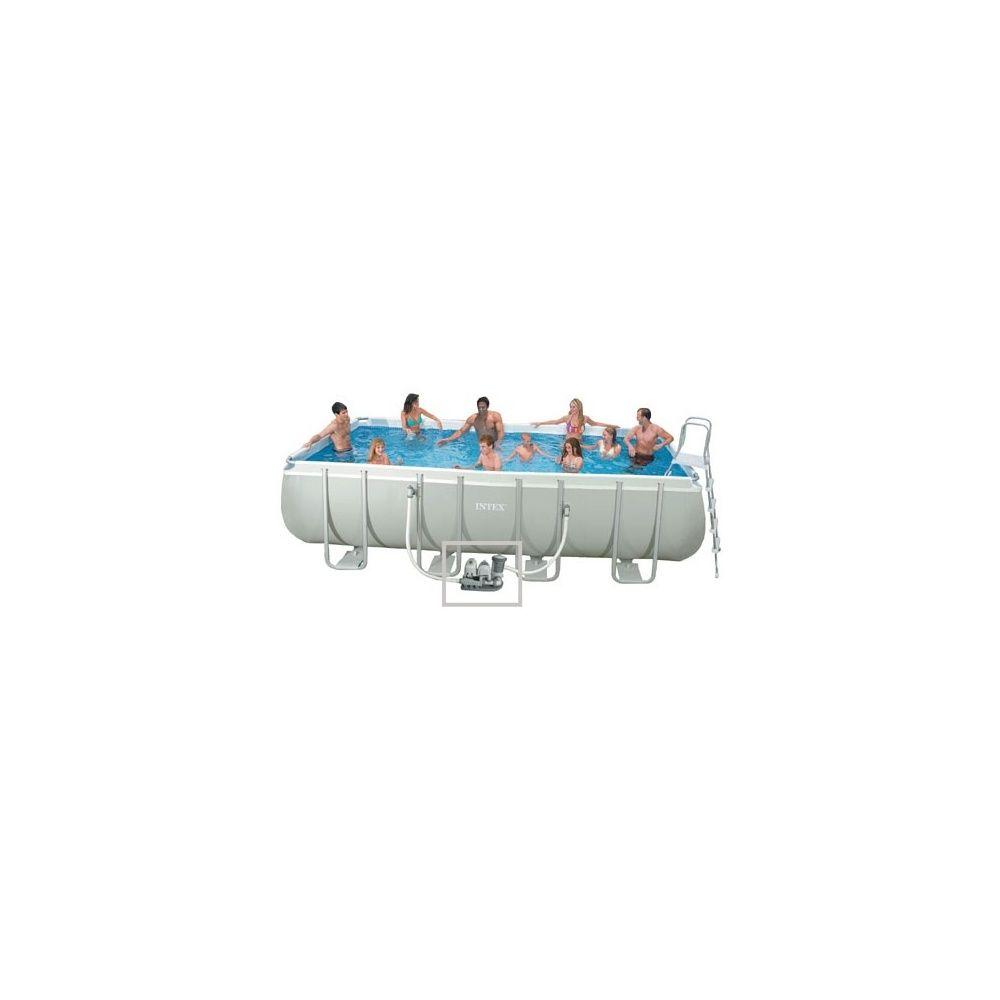 Kit piscine tubulaire ultra silver intex l 5 49 m x l 2 74 for Kit piscine intex