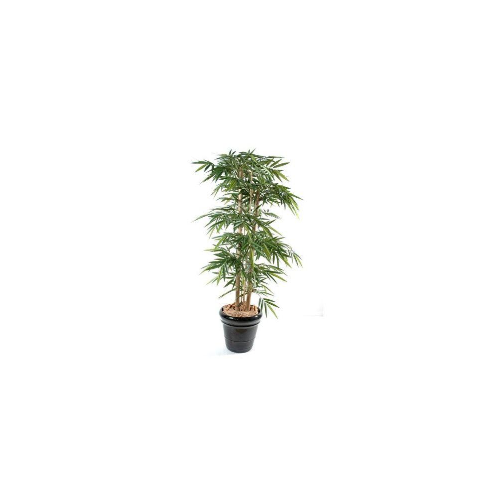 Bambou new grosses cannes tronc naturel feuillage artificiel 1m80 plantes et jardins - Tronc de bambou decoratif ...