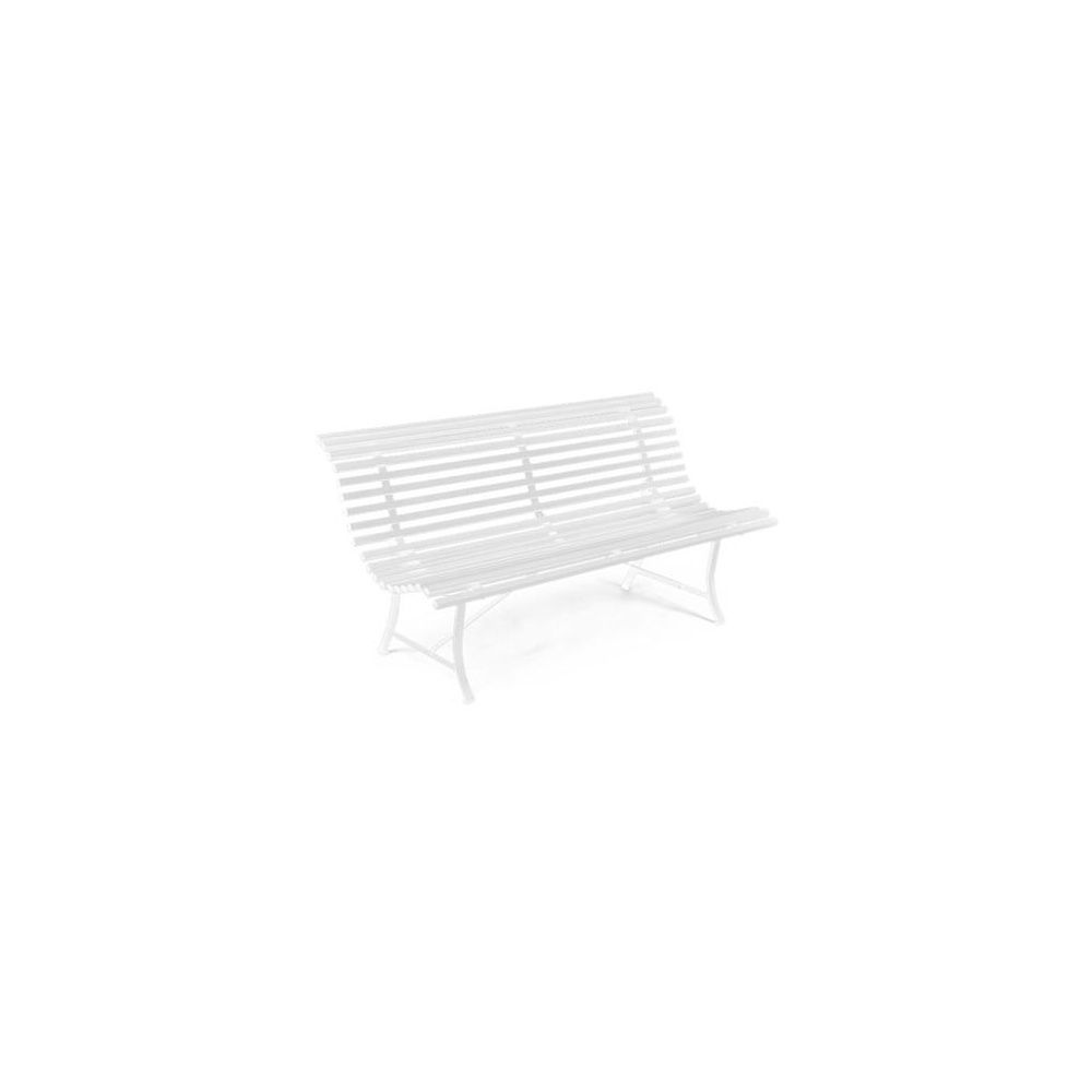 banc louisiane 150cm blanc fermob plantes et jardins. Black Bedroom Furniture Sets. Home Design Ideas