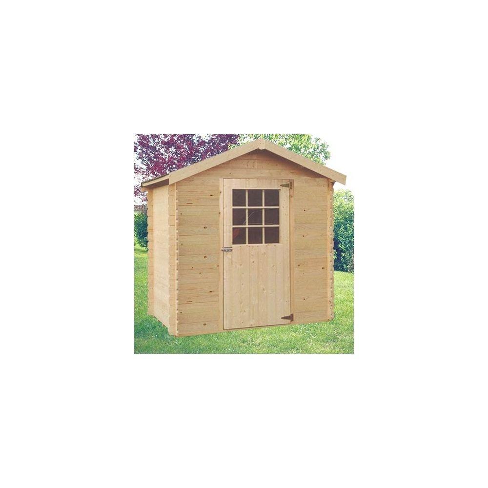 Abri de jardin 3 92 m2 toronto bois massif 28 mm sans for Abri jardin sans entretien