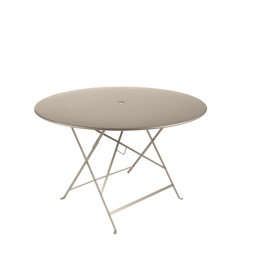 table pliante fermob cargo acier l128 l128 cm rouille plantes et jardins. Black Bedroom Furniture Sets. Home Design Ideas