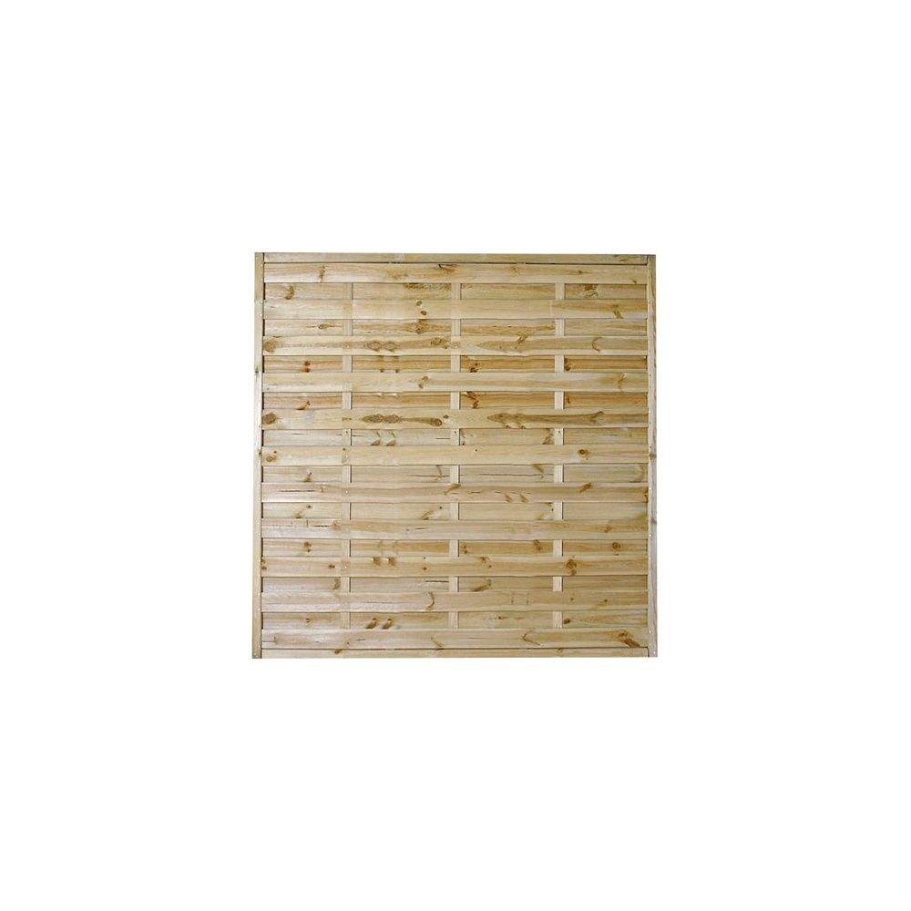 Panneaux d coratifs lot de 10 droits en bois pour for Panneaux decoratifs