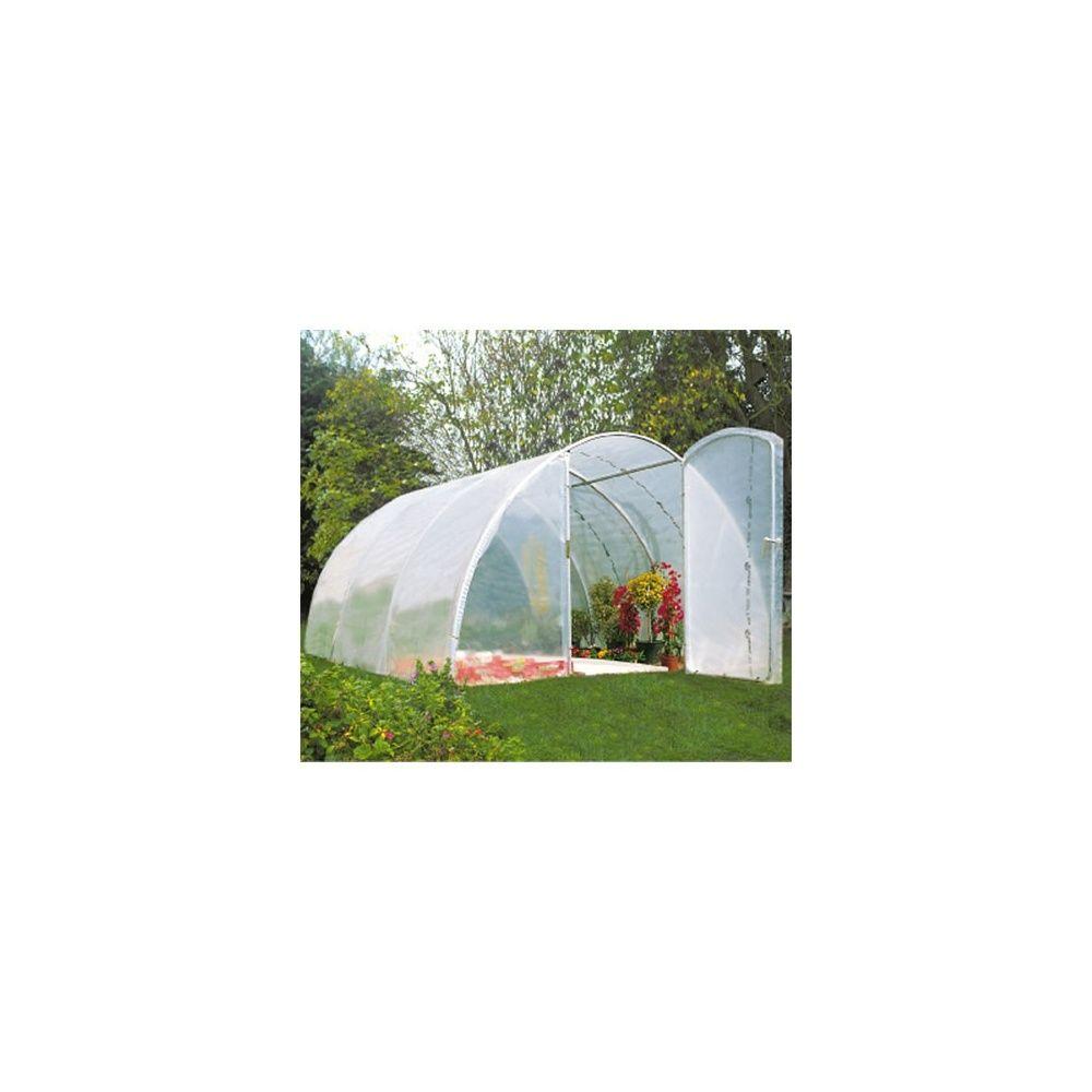 serre de jardin tunnel 20 25m double porte richel plantes et jardins. Black Bedroom Furniture Sets. Home Design Ideas