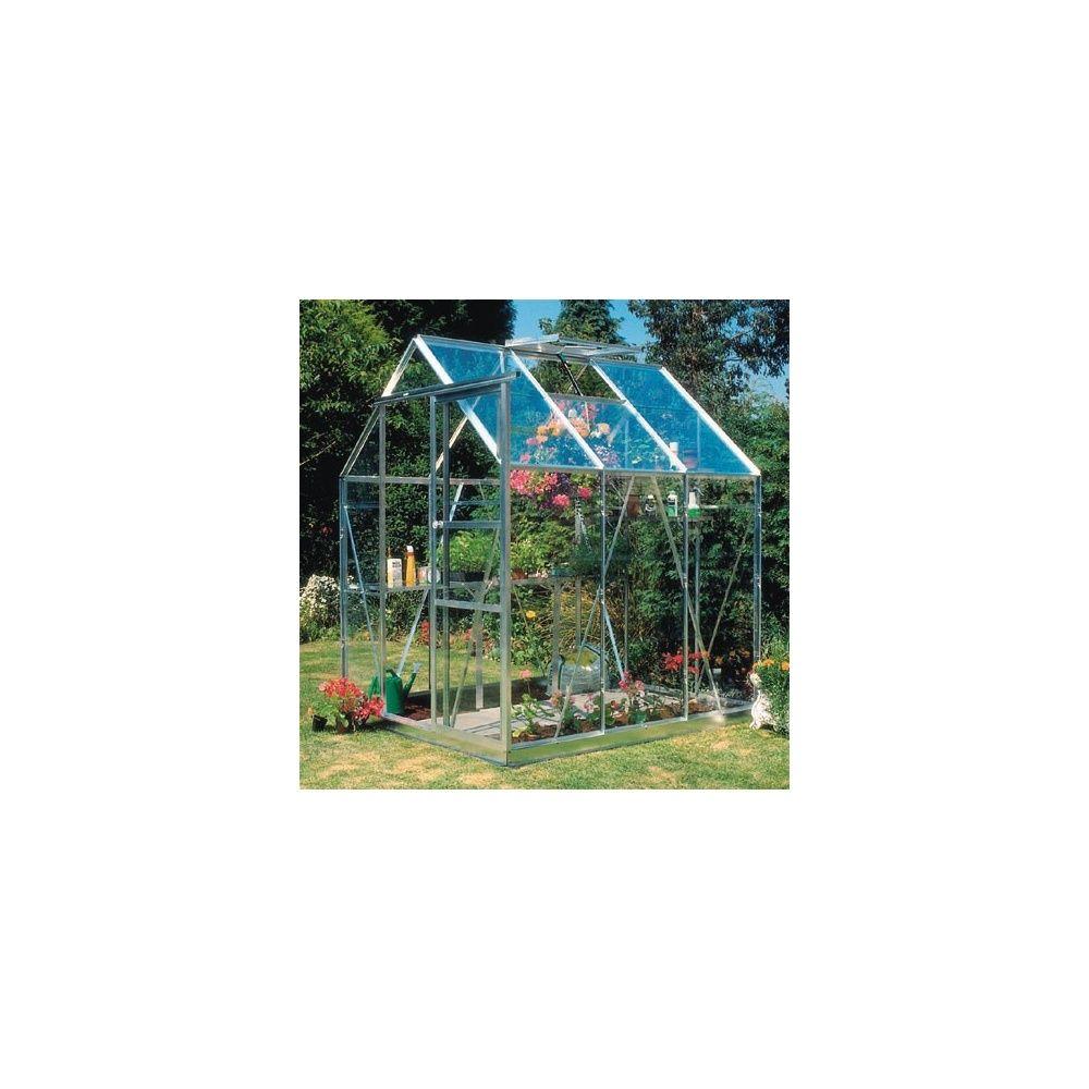 Serre de jardin 3,1m² en verre horticole avec embase - ACD Garden ...