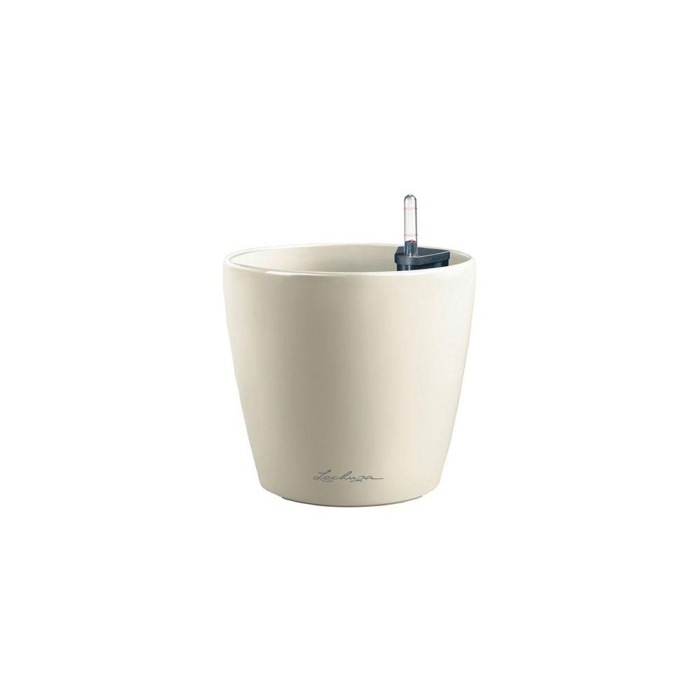 pot classico blanc diam tre 60 cm x hauteur 56 cm lechuza plantes et jardins. Black Bedroom Furniture Sets. Home Design Ideas