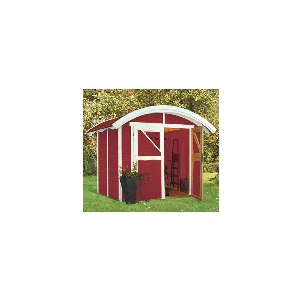 Abri de jardin 4 m2 dorum bois massif 19 mm avec plancher for Abri de jardin avec plancher
