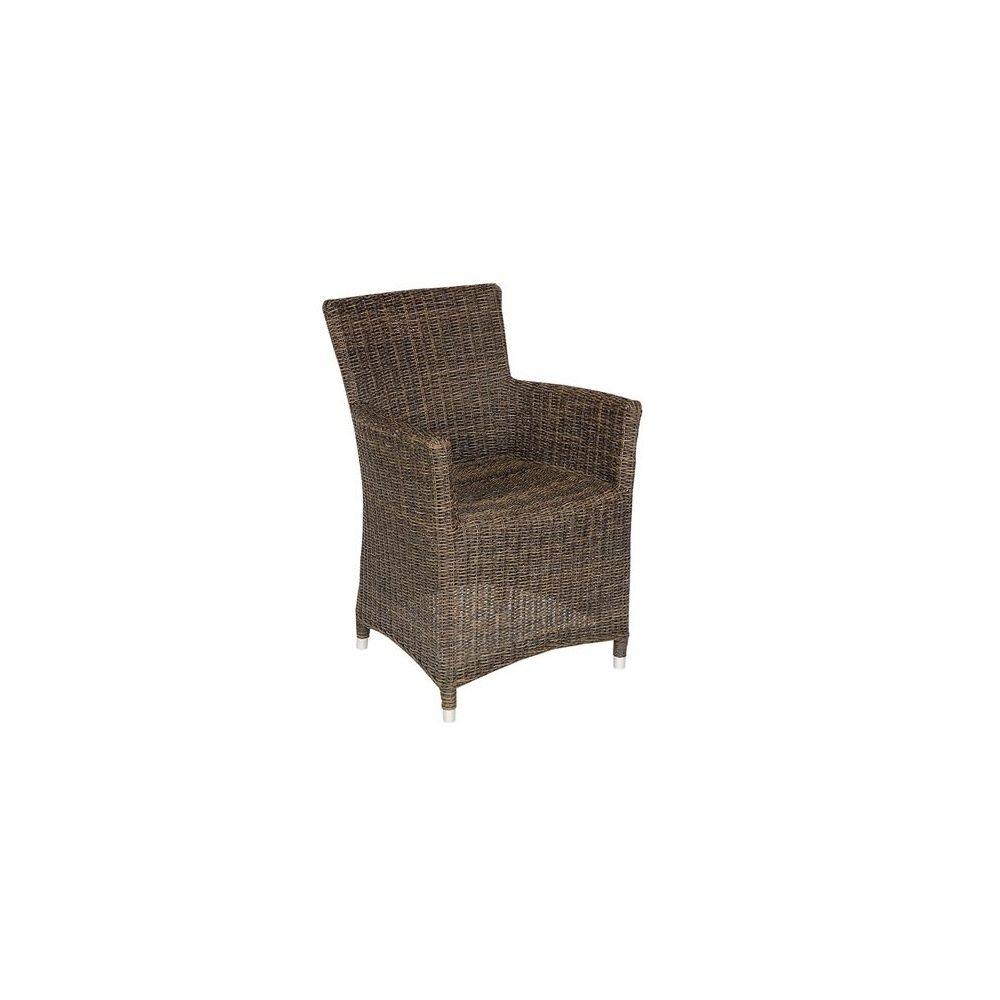 fauteuil en r sine tress e chocolat cebu plantes et jardins. Black Bedroom Furniture Sets. Home Design Ideas