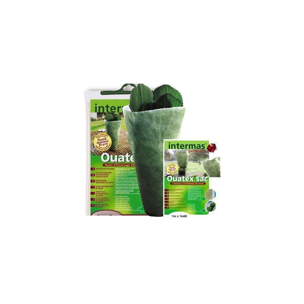 kit ouate d 39 hivernage ouatex voile double paisseur vert 1x10m 2 housses vertes 1x1 60m 85gr. Black Bedroom Furniture Sets. Home Design Ideas