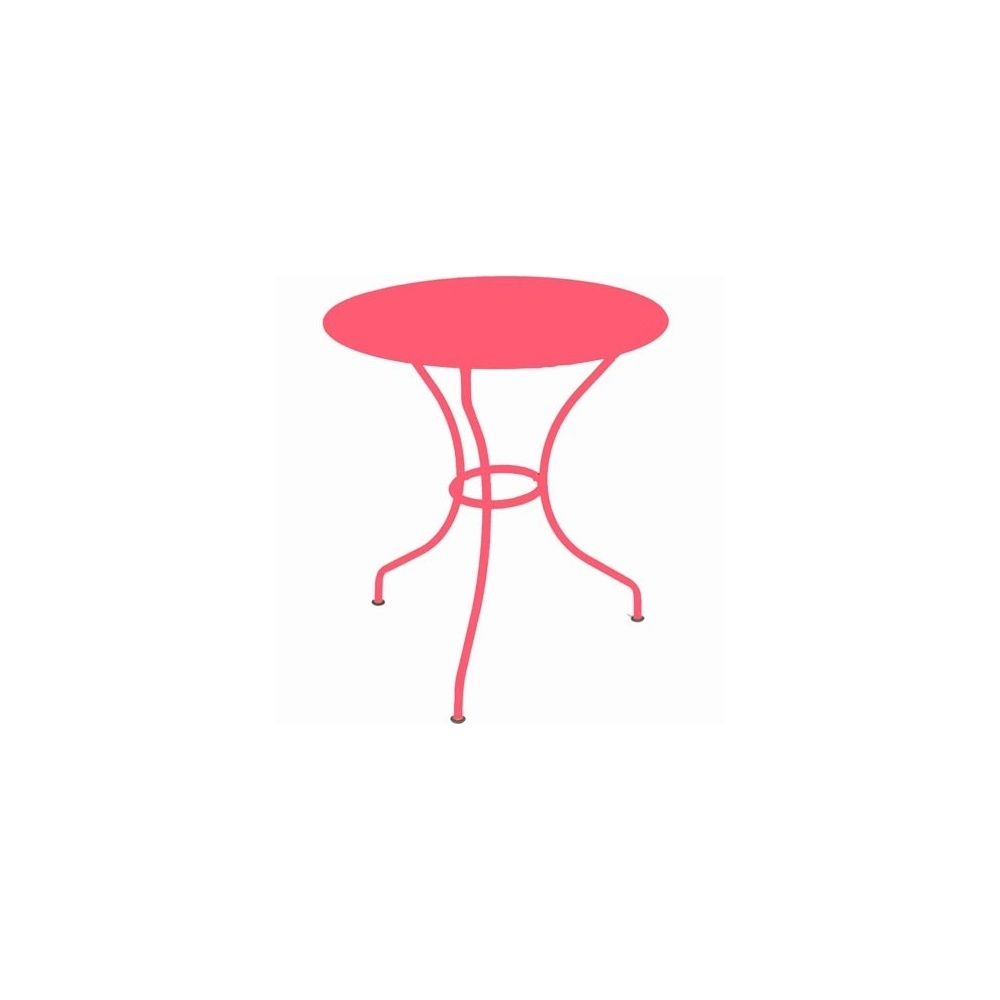 Table ronde op ra d67cm fuschia fermob plantes et - Fermob opera table ...