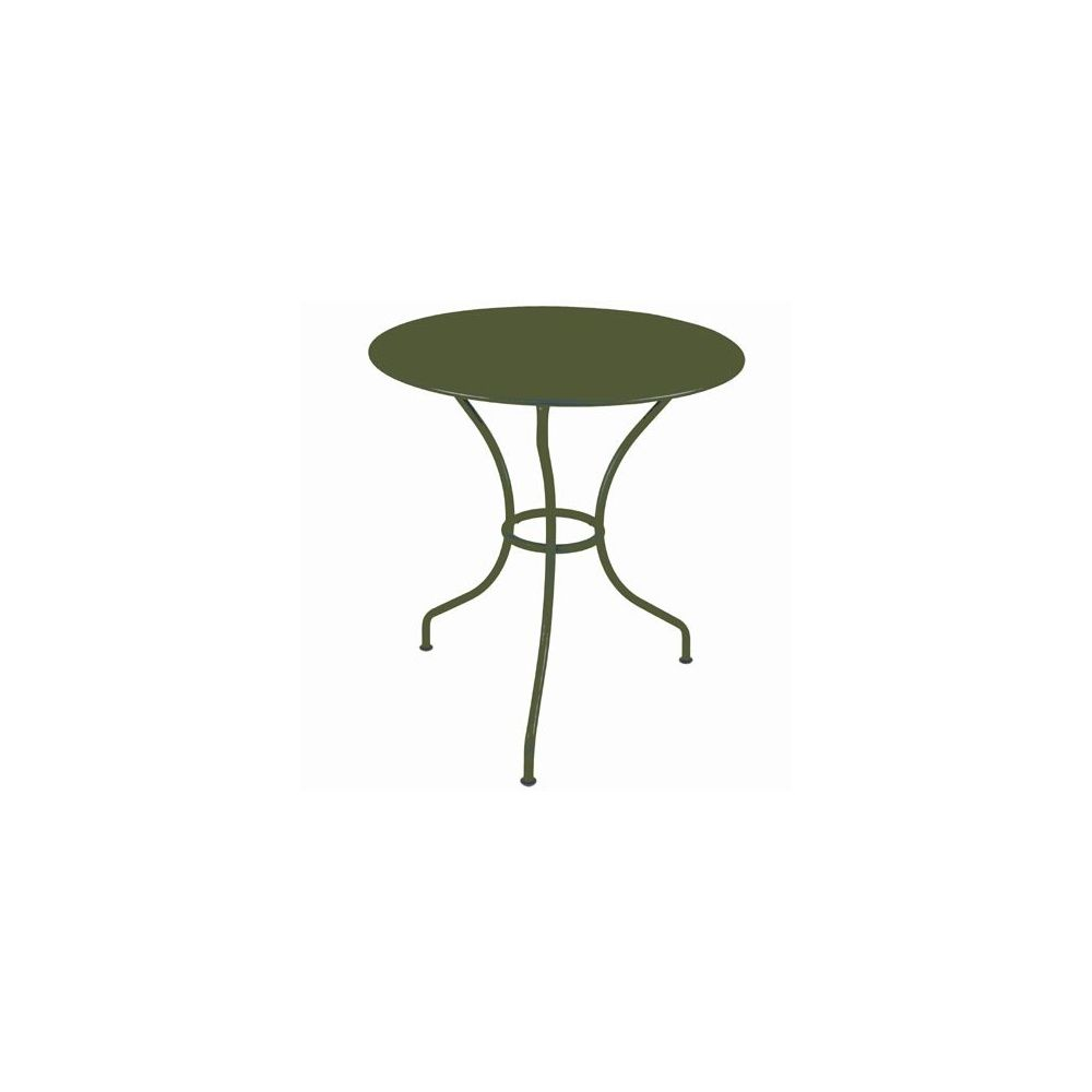 Table ronde op ra d67cm savane fermob plantes et jardins - Fermob opera table ...