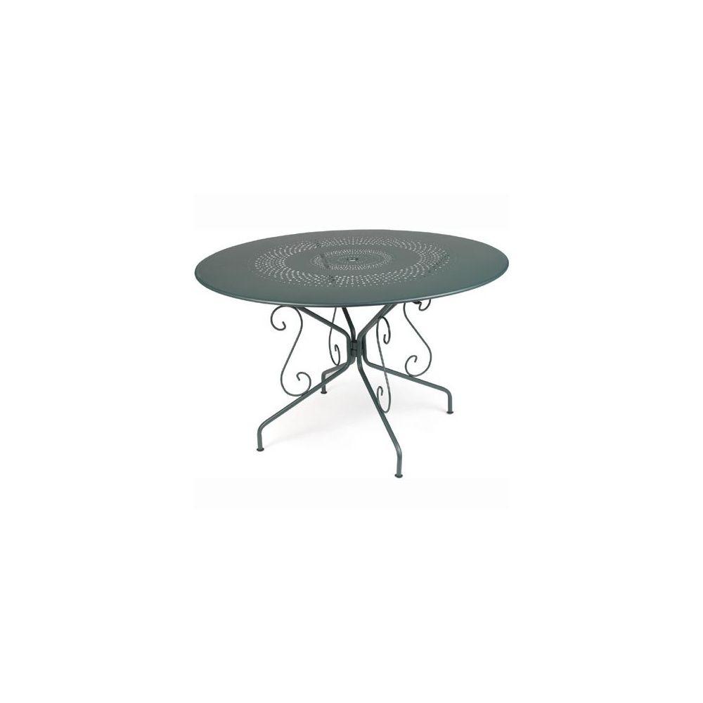 table ronde montmartre d117 cm c dre fermob plantes et jardins. Black Bedroom Furniture Sets. Home Design Ideas
