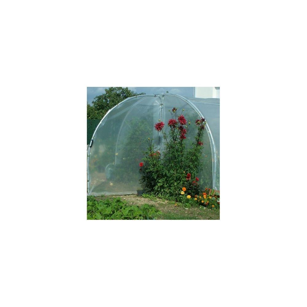 Serre tunnel maraîchère 9 m²   richel   plantes et jardins