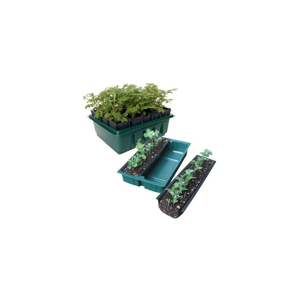 lot de 2 kits d 39 enracinement rootrainer racines rowplanter plantes et jardins. Black Bedroom Furniture Sets. Home Design Ideas