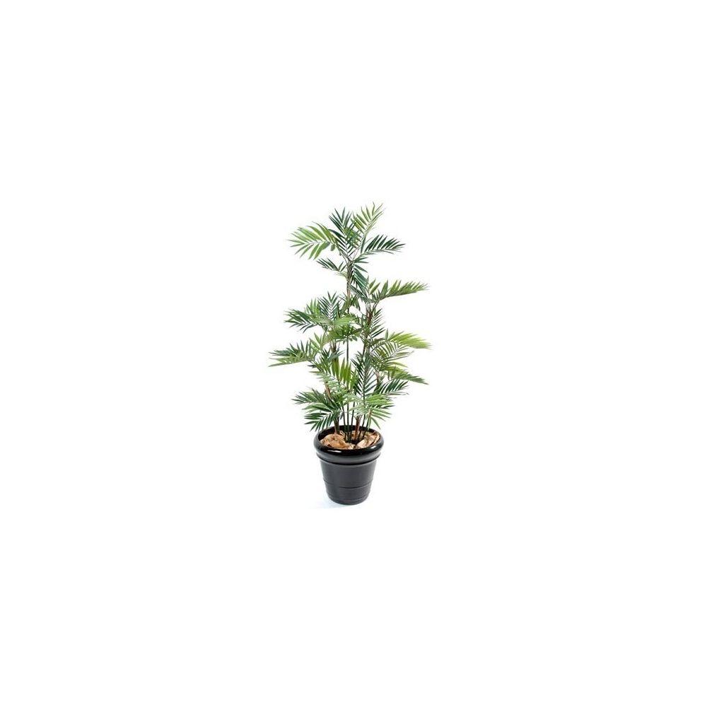 palmier parlour h150cm tronc naturel feuillage artificiel non rempot plantes et jardins. Black Bedroom Furniture Sets. Home Design Ideas
