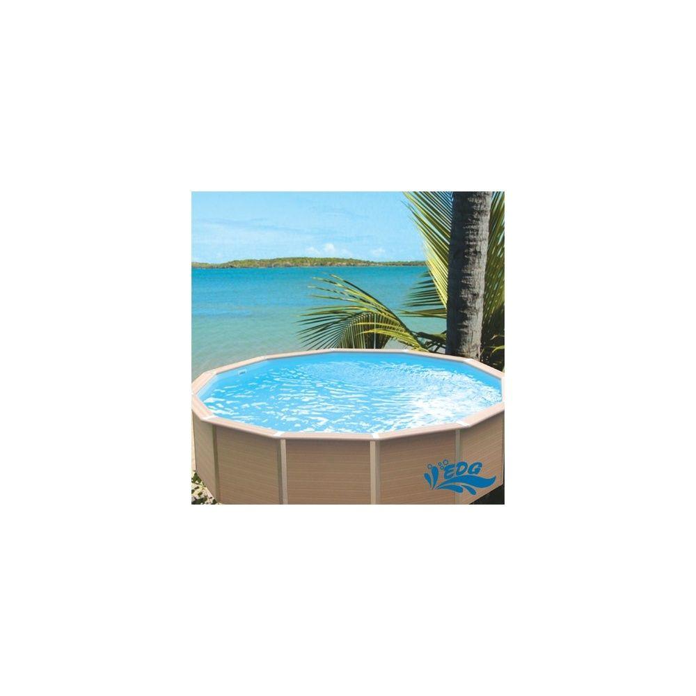 Kit piscine davao ronde diam tre 5 25 m et hauteur 1 34 m for Liner piscine diametre 5 50