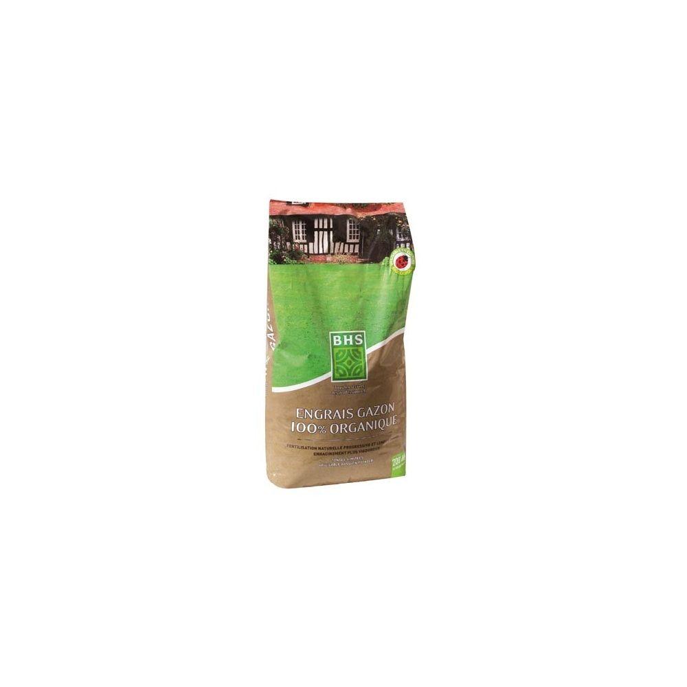 Engrais gazon 100 organique 6kg bhs plantes et jardins - Engrais gazon printemps ...