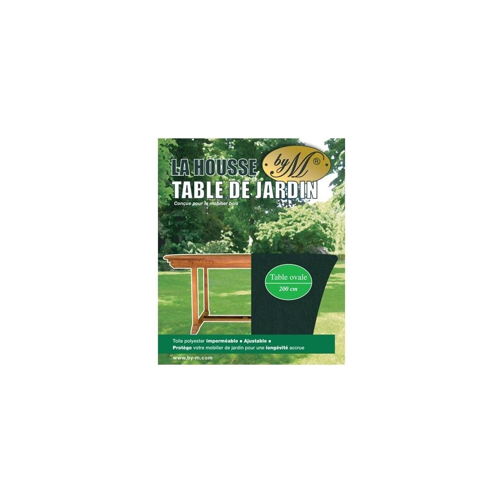 housse pour table de jardin by m 200cm x 110cm plantes et jardins. Black Bedroom Furniture Sets. Home Design Ideas